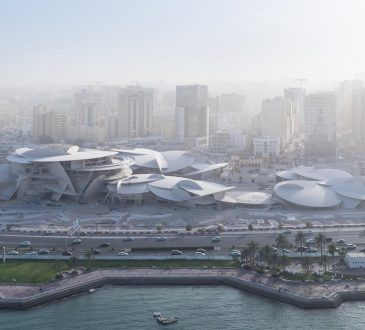 Jean Nouvel's 'desert rose' design for the National Museum of Qatar completes