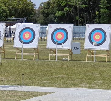 Yumenoshima Park Archery Field hits the bullseye