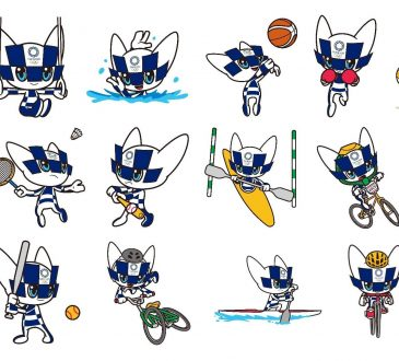 Tokyo 2020 unveils mascot images representing Olympic sports and disciplines