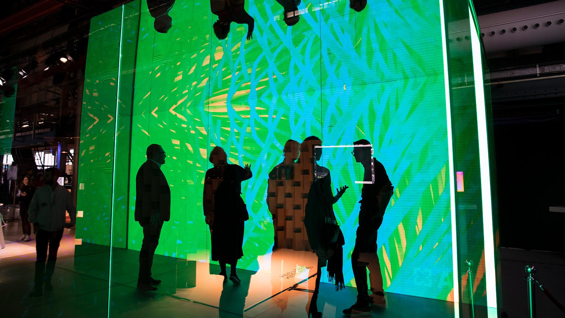 Had glow-in-the-dark ceiling stars as a child? ASB's Deep Lumen Cube is the grown-up version