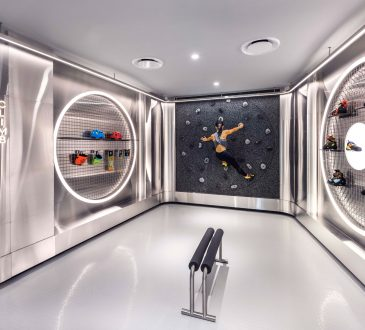 Ministry of Design completes futuristic sports store in Singapore Airport
