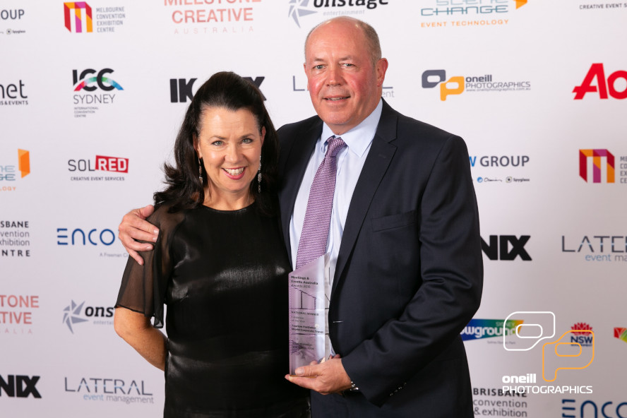 Get Global Named 'Exhibition of the Year' at National Meetings & Events Australia 2018 Industry Awards