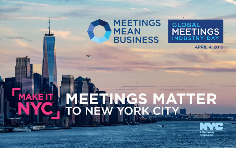 NYC & Company Celebrates 4th Annual Global Meetings Industry Day (GMID)