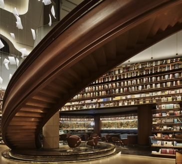Chinese history inspires a bookstore design by Tomoko Ikegai