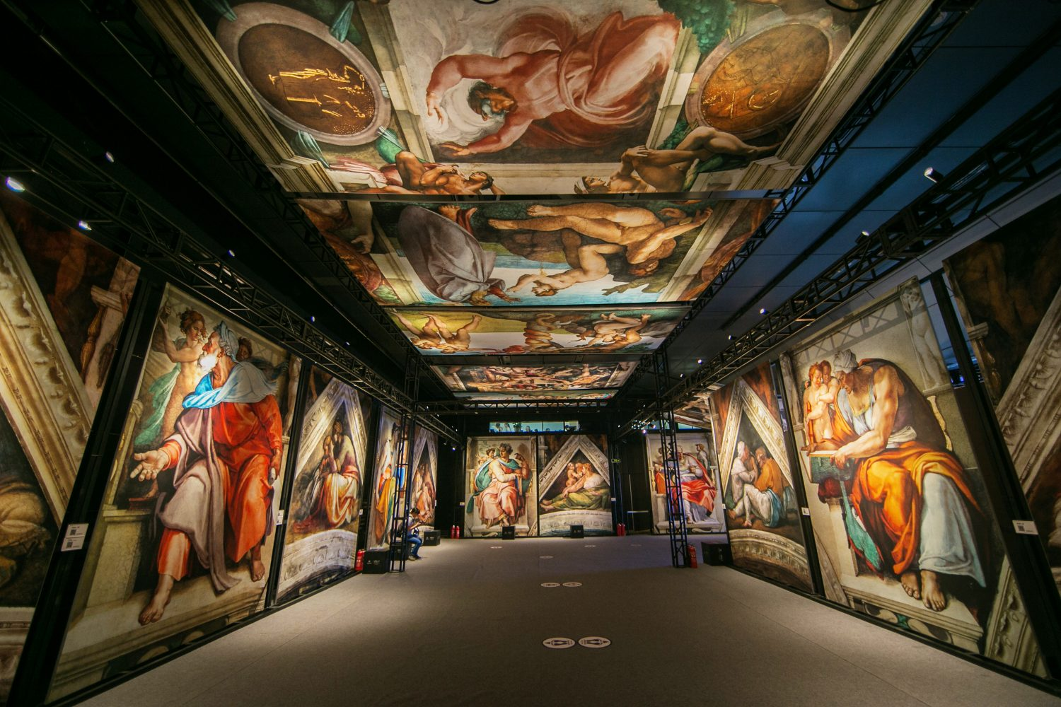 Stanley Marketplace is bringing the Sistine Chapel to its 10,000-square-foot hangar