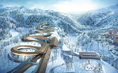 360-degree dragon-shaped track to be built for 2022 Winter Olympics