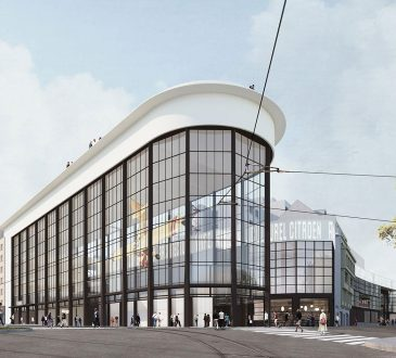 Contemporary architecture blossoms in Brussels