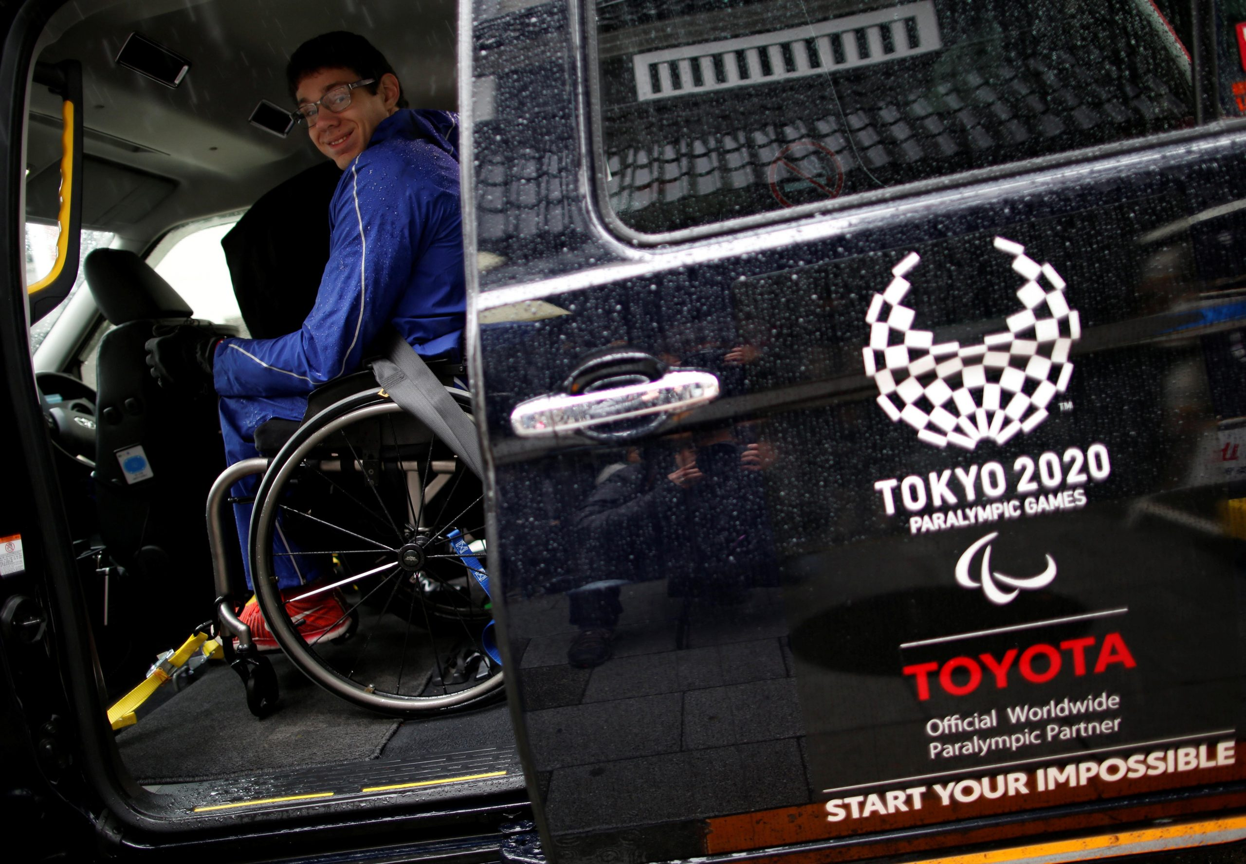Designed by committee, Toyota's Japan Taxi becomes an expensive Olympic symbol