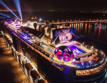 Spectrum of the Seas offers overnight sailings in Tokyo in 2020