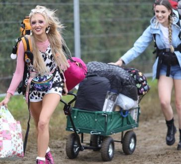 Music fans set up camp as Glastonbury Festival opens gates