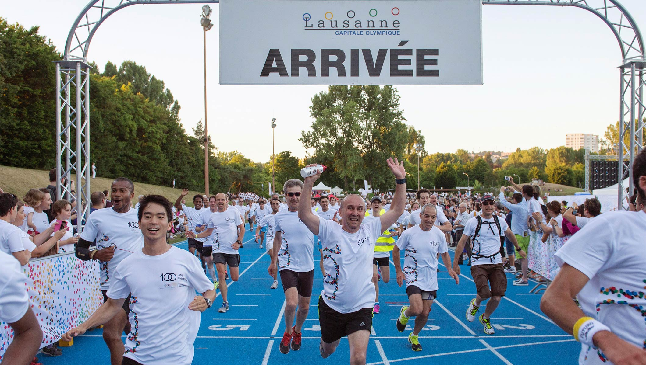 Olympic superstars get active in Lausanne for Olympic Day
