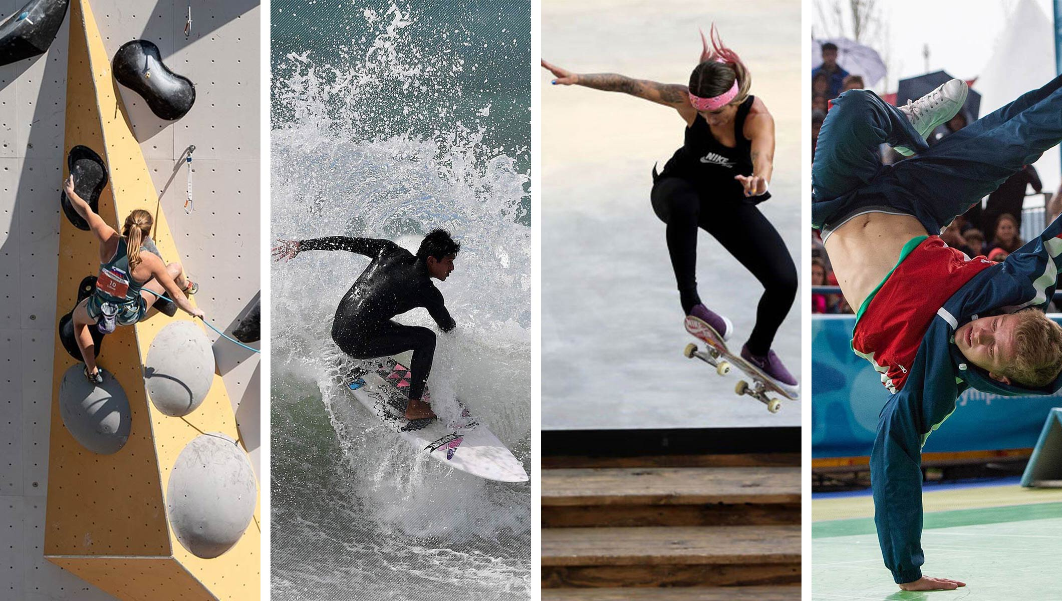 Breaking, skateboarding, sport climbing and surfing provisionally included on Paris 2024 Olympic sports programme