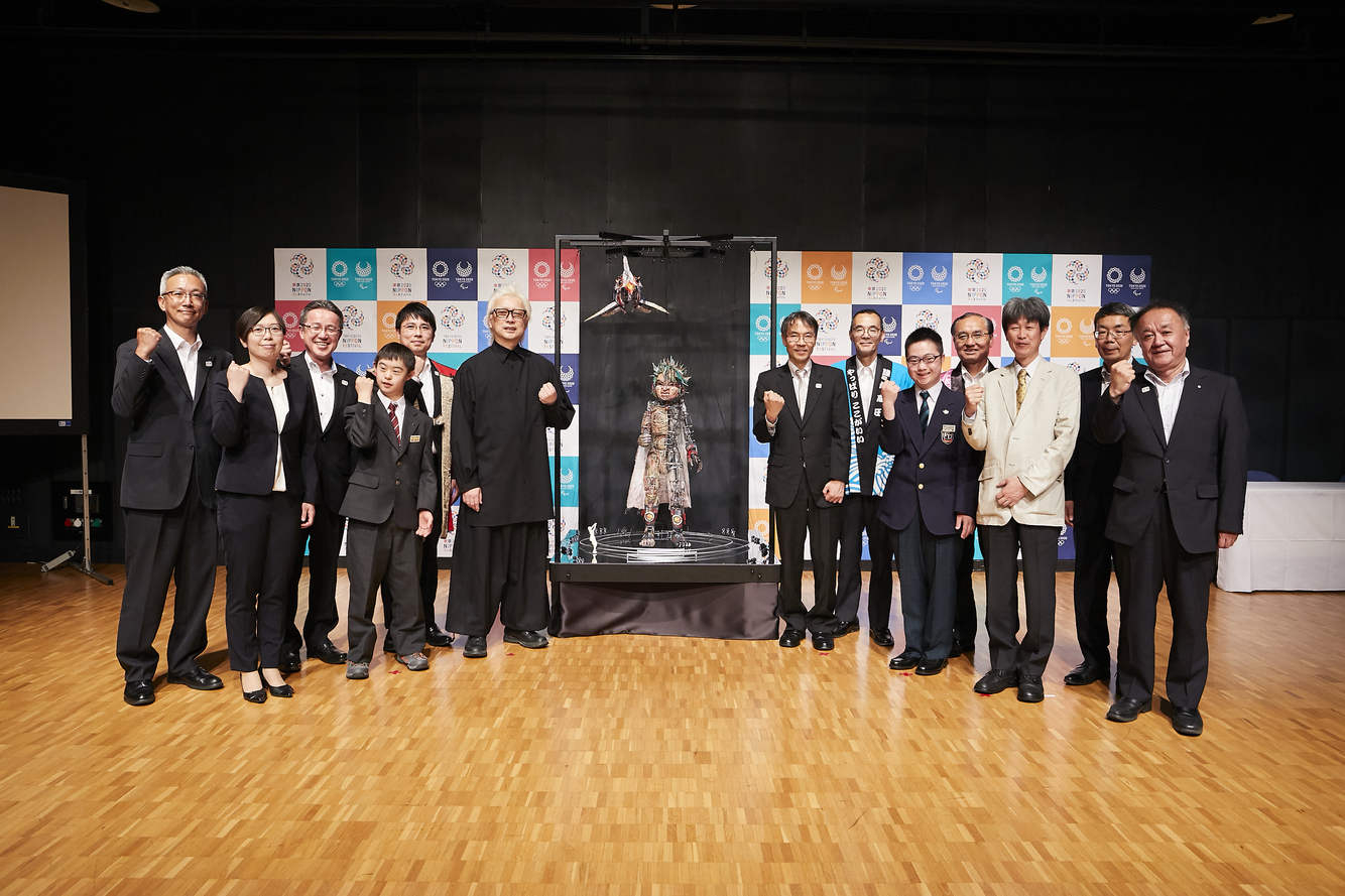 """Tokyo 2020 Reveals Design of """"MOCCO"""" Giant Puppet"""
