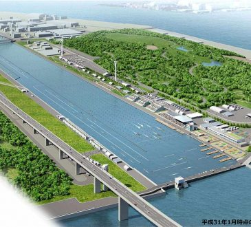 Tokyo 2020 Sea Forest Waterway Completed With More than A Year To Go Until The Olympic Games Open