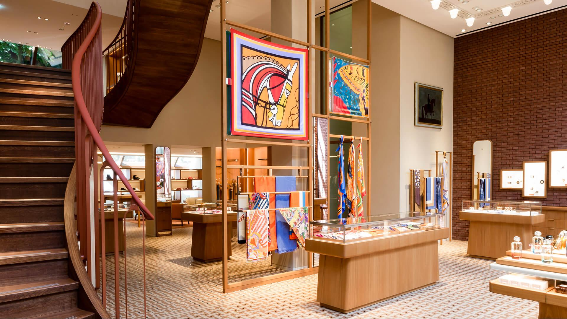 Hermès goes bigger and better in Amsterdam – in a landmark location