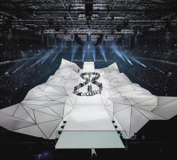 Designers pulled out all the (tech) stops for the biggest multimedia production in Latvian history