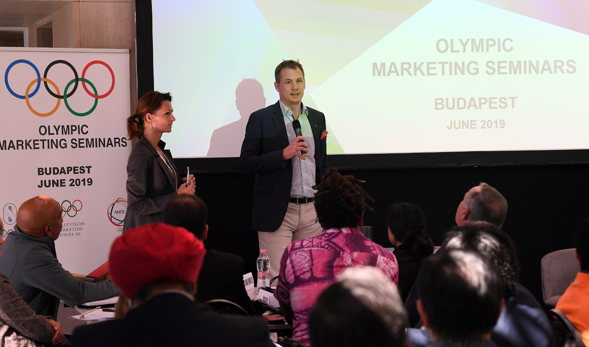 Hungarian Olympic Committee President Kulcsár aiming to grow country's brand after Budapest hosts Olympics marketing seminar