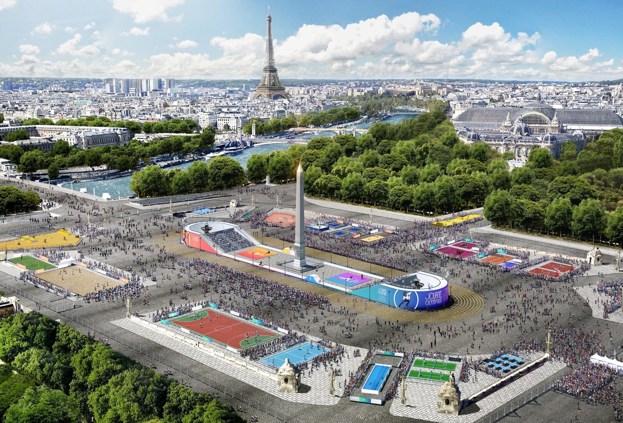 Paris 2024 unveils plans for Olympic Day and Festival of Sport