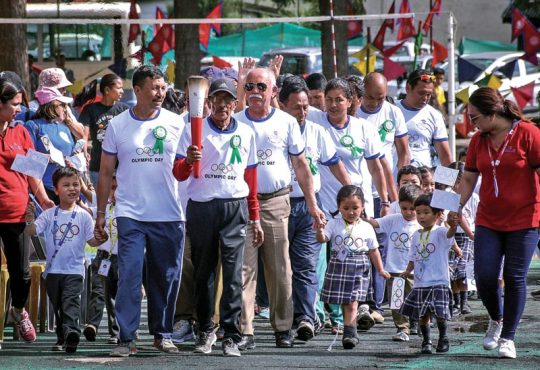 Olympic Day marked with colourful ceremony