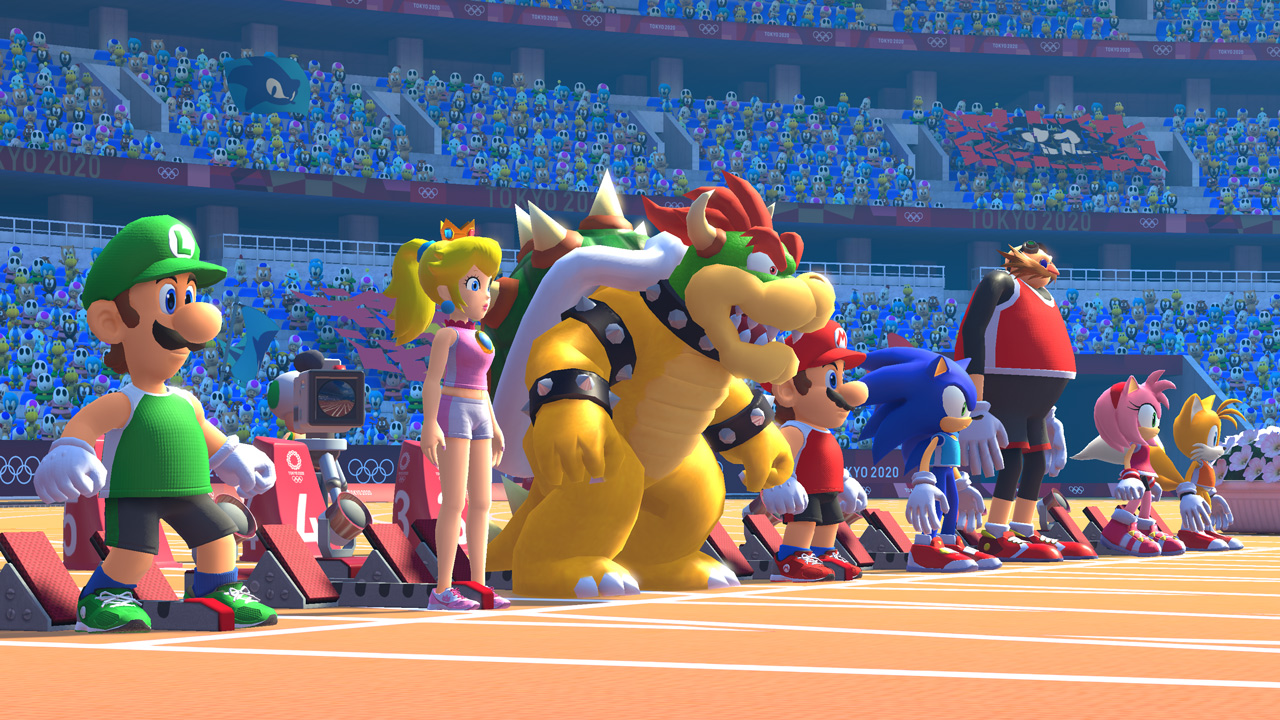 E3 Hands-On: Mario & Sonic at the Olympic Games Tokyo 2020