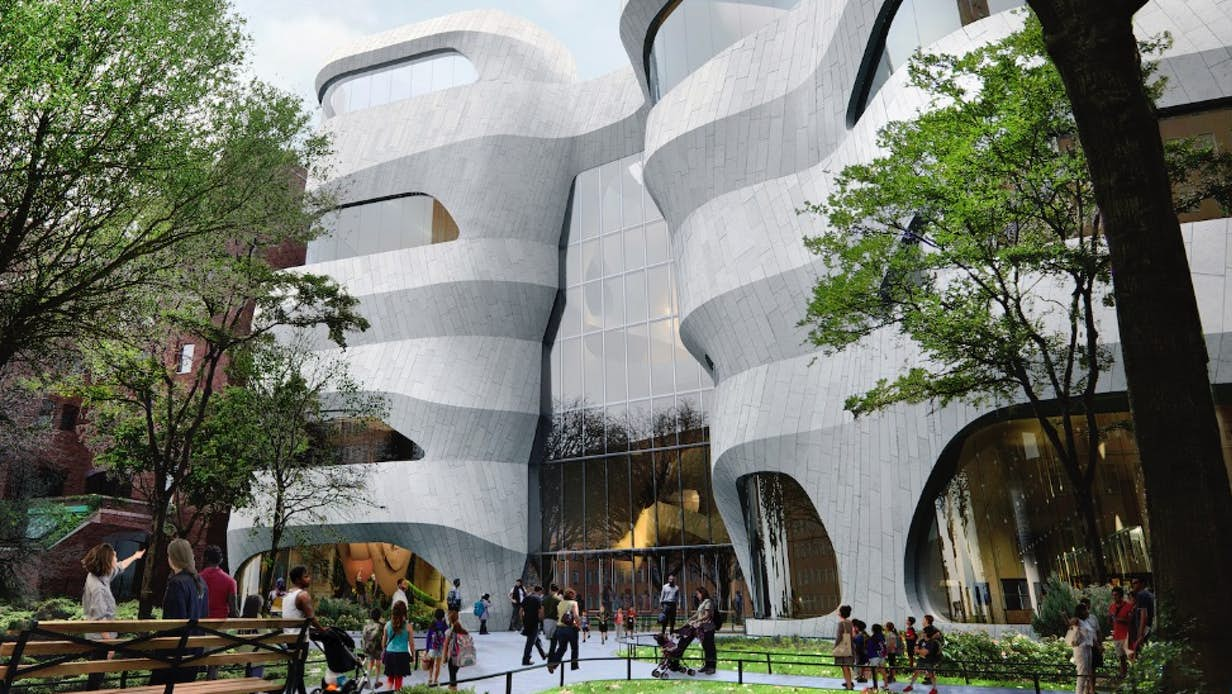 Work begins on sculpted American Museum of Natural History extension