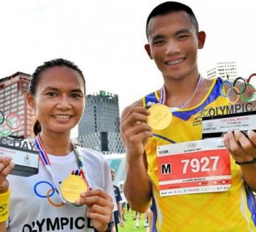 Over 10,00 join Olympic Day Thailand