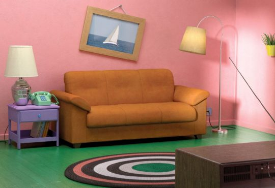 POTD: 'The Simpsons', 'Stranger Things', and 'Friends' Living Rooms Recreated with IKEA Furniture