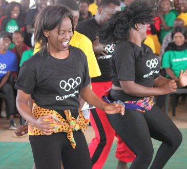 Olympic medallist Matete leads Olympic Day celebrations in Zambia