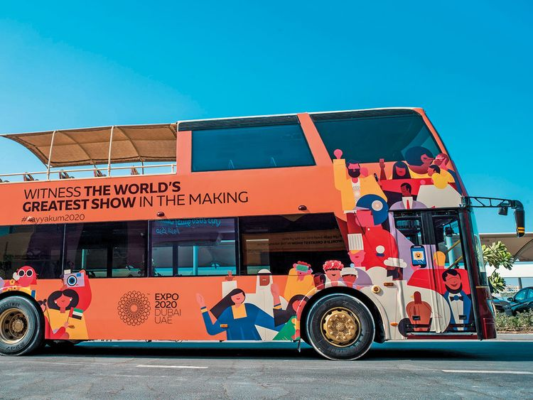 Dubai Expo 2020 launches 'The World's Greatest Show' bus tour