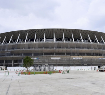 Olympics: Main stadium for Tokyo 2020 reaches 90% completion