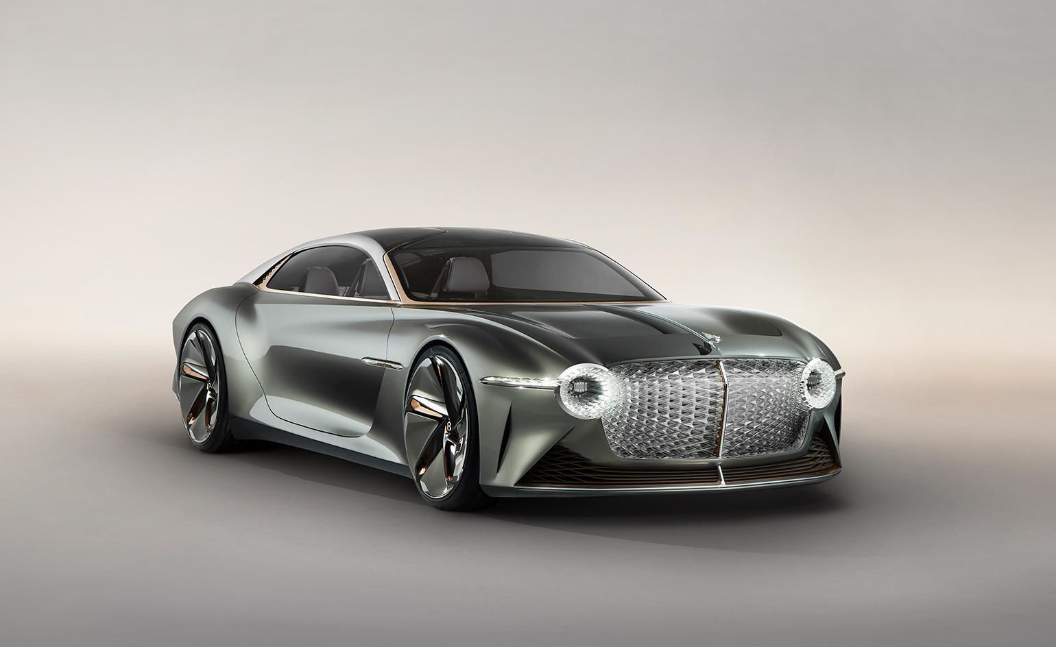 Bentley EXP 100 GT imagines driving in the year 2035