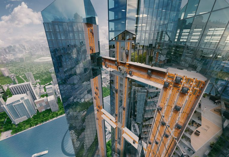 Ropeless elevators to be showcased at the Germany pavilion for Expo 2020 Dubai