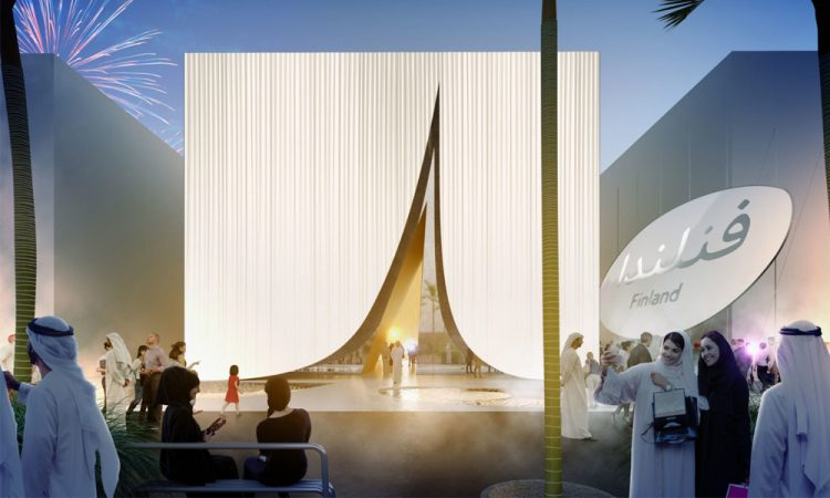 Construction work on Finnish Pavilion for Expo 2020 Dubai begins