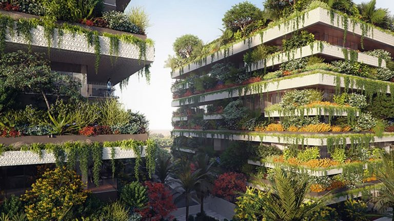 "Italian architect Stefano Boeri unveils plans for Africa's first ""vertical forest"""