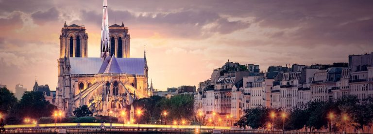 paris heartbeat by zeyu cai + sibei li wins the people's notre dame design competition