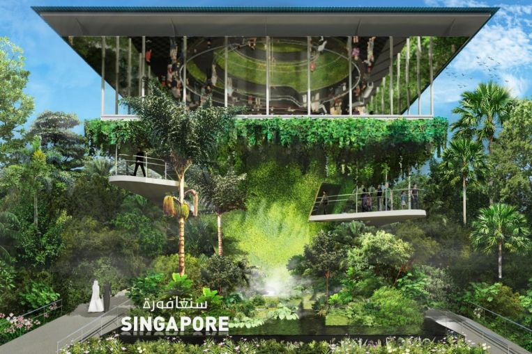Singapore to showcase green pavilion at World Expo in Dubai next year