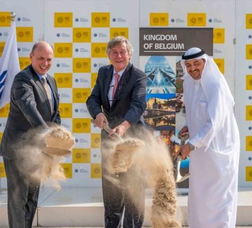 Besix breaks ground on Expo 2020 Dubai's Belgium Pavilion