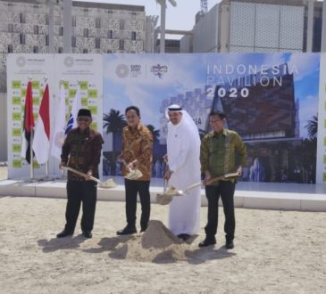 Indonesia Groundbreaking Paviliun Menuju Dubai Expo 2020