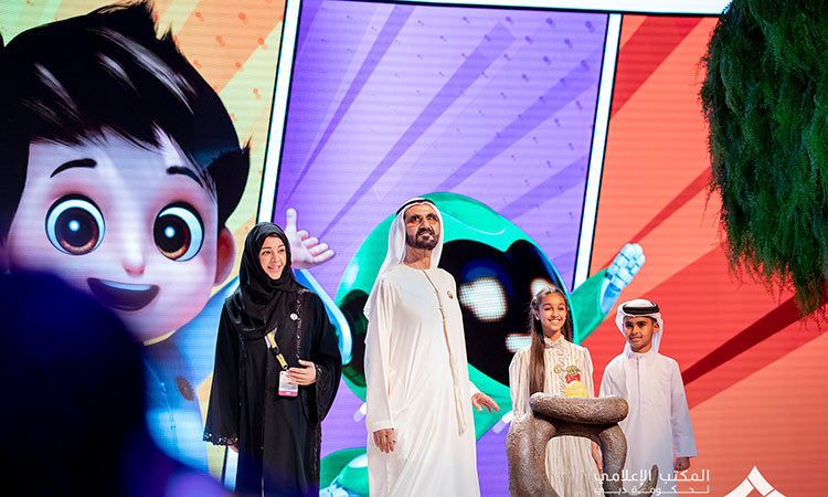 Sheikh Mohammed witnesses unveiling of Expo 2020 mascots