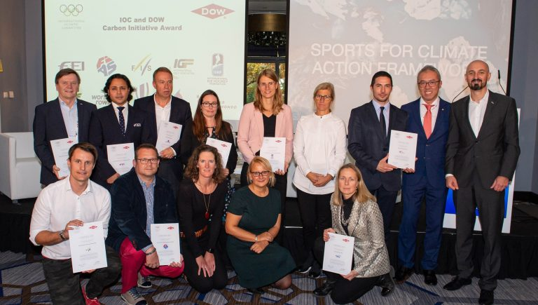 IOC and Dow reward 10 International Sports Federations for tangible climate action