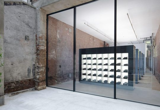 Why a denim retailer's NYC flagship is more exhibition than emporium