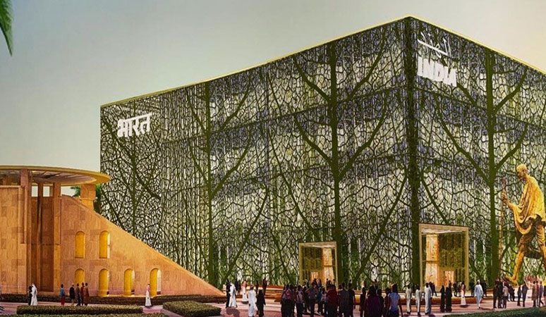 India Pavilion Construction Starts at Expo 2020 Dubai