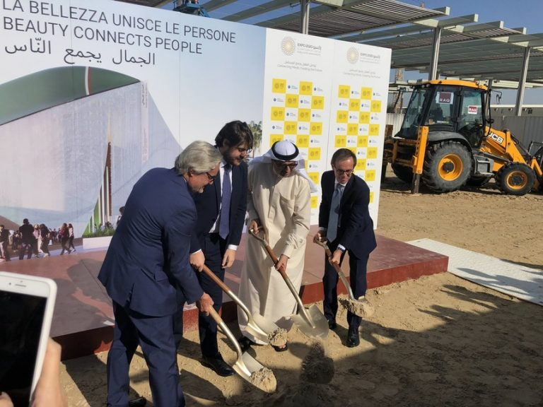 Italy kick starts construction on Expo 2020 Dubai pavilion