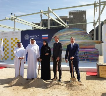 Construction begins on Expo 2020 Dubai's 27m-high Russia Pavilion