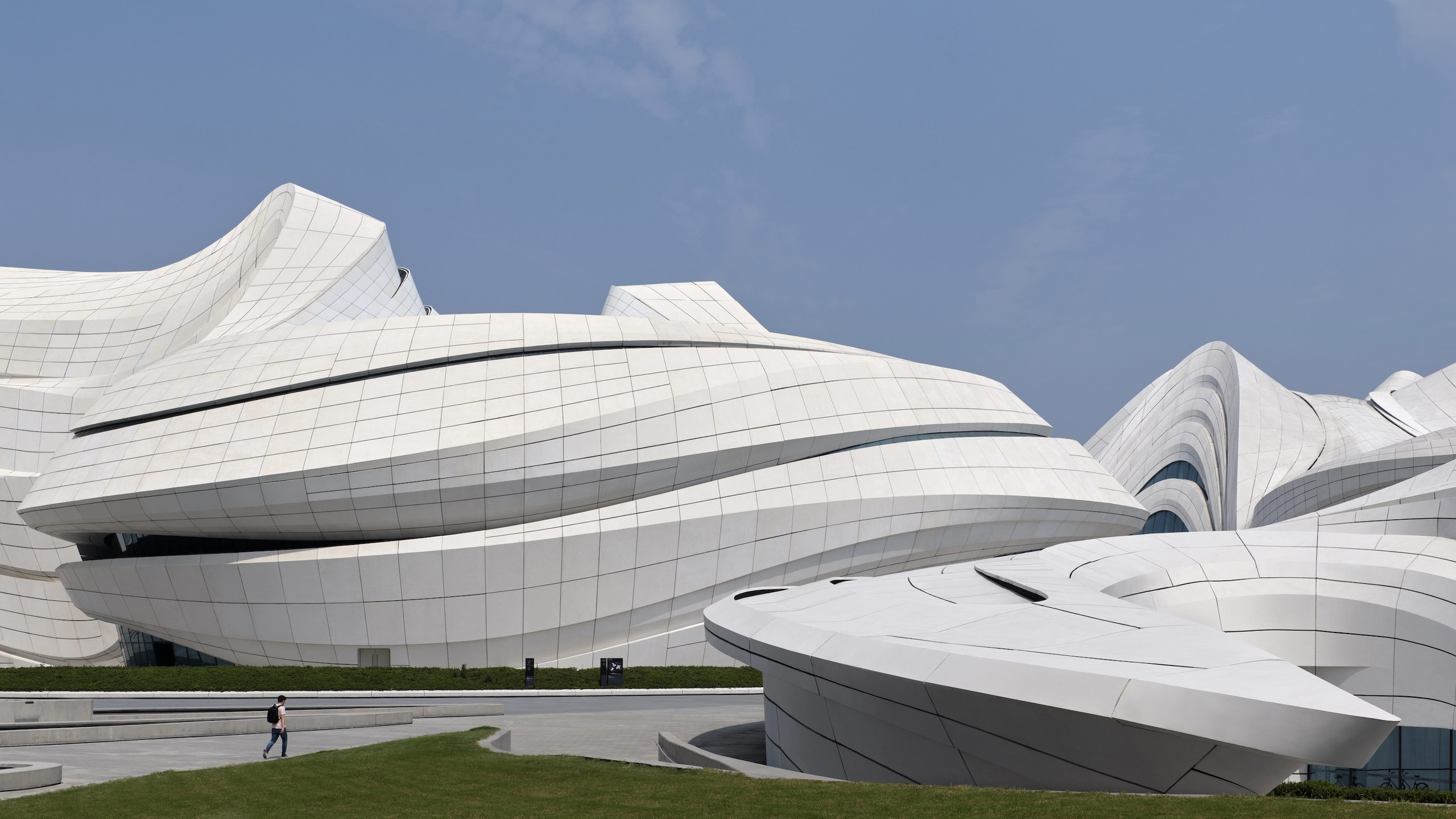 Zaha Hadid Architects Completes China's Newest Cultural Center