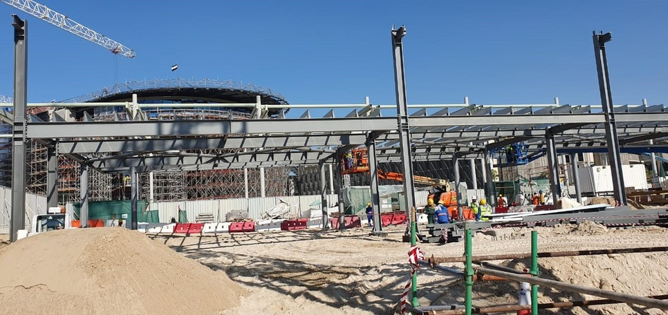 PICTURES: Progress noted on Expo 2020 Dubai's France Pavilion