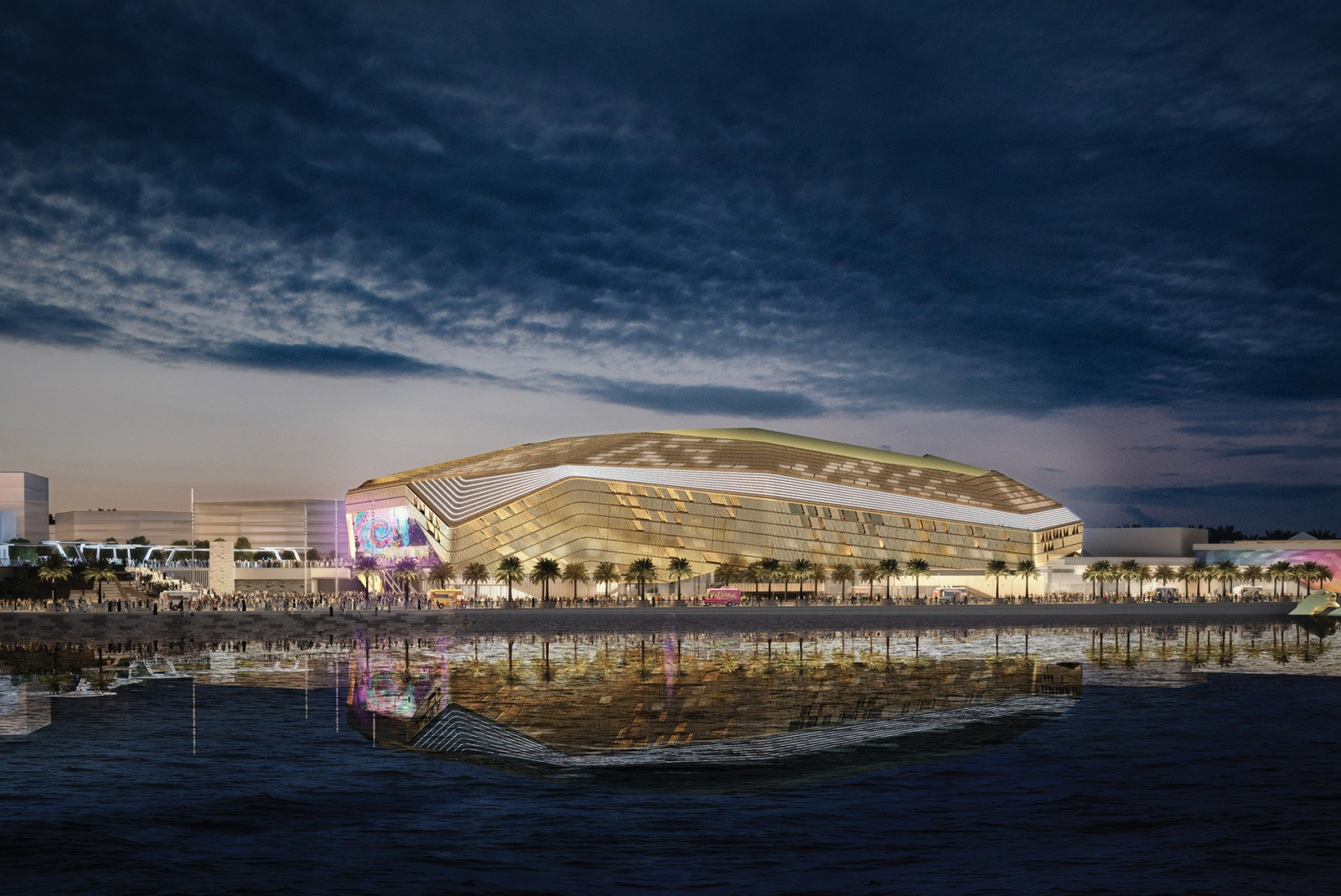 New 18,000-capacity indoor entertainment venue in Abu Dhabi officially named Etihad Arena