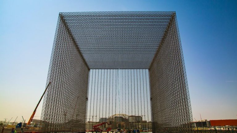 Expo 2020 Dubai takes delivery of three huge entry gates