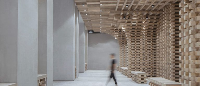 GreenMonster Lab in Beijing by BANDe Architects.