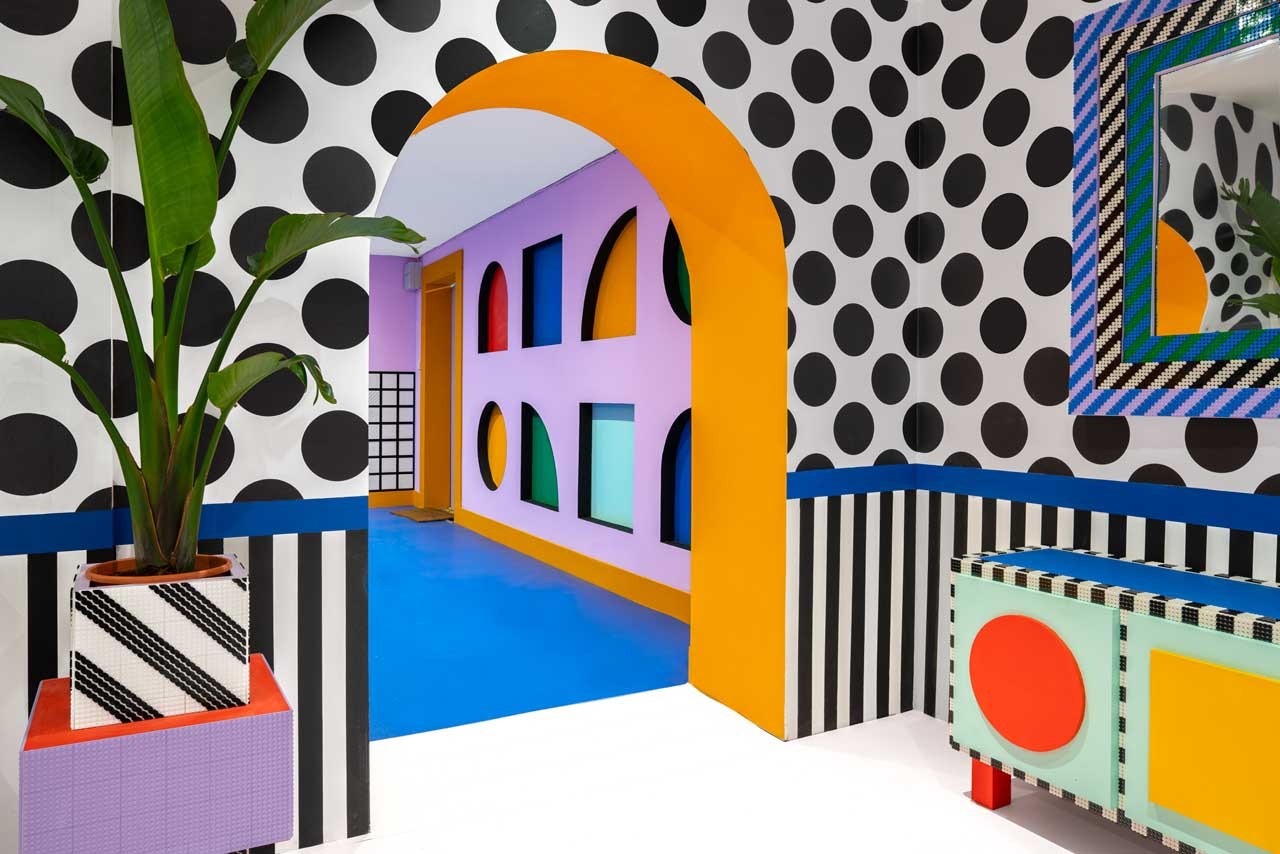 Camille Walala Designs a Colorful House with LEGO That's Every Kid's Fantasy